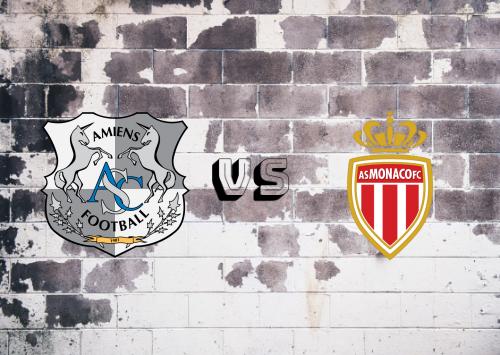 Amiens SC vs AS Monaco  Resumen
