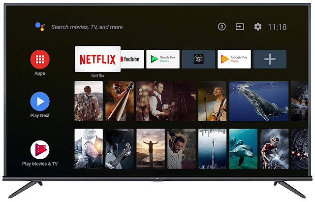 TCL 108 cm (43 inches) 4K Ultra HD Smart Certified Android LED TV