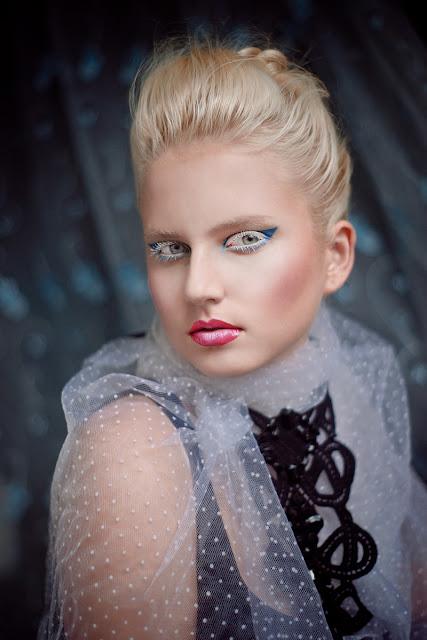 beautiful smow makeup, Królowa Śniegu, Jasmine