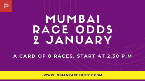 Mumbai Race Odds 2 February, Race Odds,