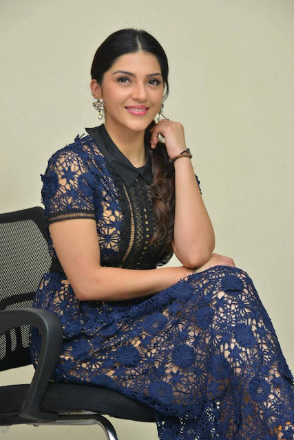 Mehreen Kaur Stills At Jawaan Movie Interview