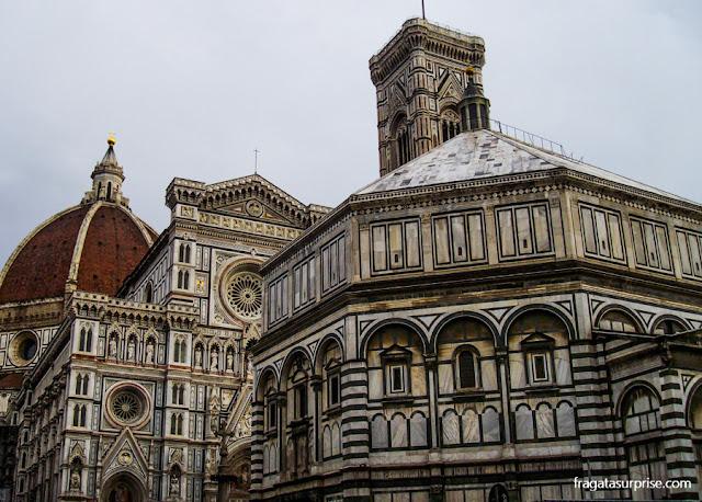 Batistério e Catedral de Florença
