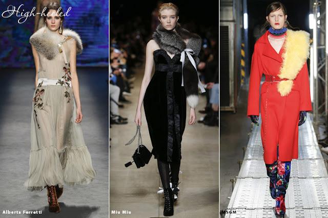 Мех - модный тренд осень-зима 2016-2017