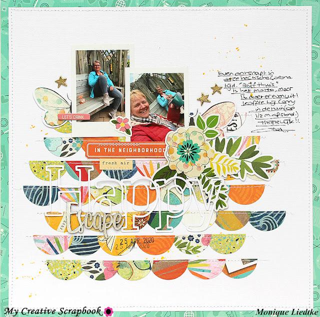 Happy Escape | Vicki Boutin | My Creative Scrapbook June Main Kit