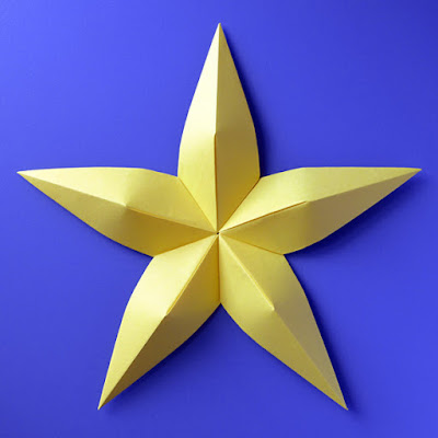 Origami Stella convessa - Convex star by Francesco Guarnieri
