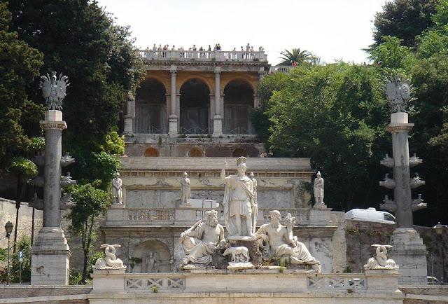 Piazza del Popolo, Roma, Itália
