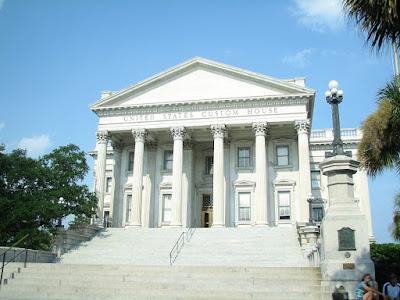 United States Custom House in Charleston South Carolina