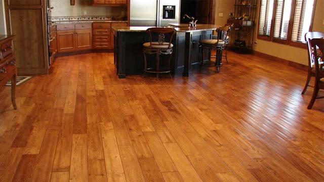 apakah lantai kayu cocok untuk dapur?