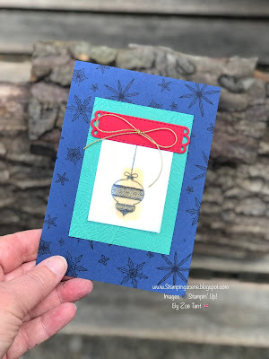 christmas card ideas with zoe tant stampin up uk demo