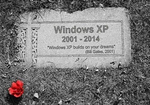 Windows XP Pensiun