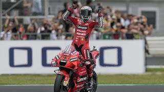Kết quả MotoGP San Marino 2021: Bagnaia Thắng lại, Nhì Quartararo, Ba Bastianini
