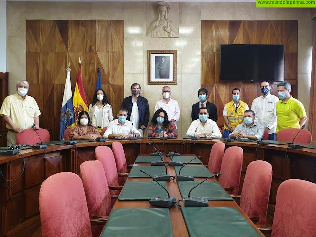 El Cabildo y los ayuntamientos trabajan para mejorar la coordinación en la seguridad en las playas