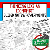 Think Like an Economist Guided Notes & PowerPoint Economic Systems Guided Notes & PowerPoint Free Enterprise in the U.S. Guided Notes & PowerPoint Demand Guided Notes & PowerPoint Supply Guided Notes & PowerPoint Prices, Supply, Demand Guided Notes & PowerPoint Market Structures Guided Notes & PowerPoint Business Organizations Guided Notes & PowerPoint Labor Guided Notes & PowerPoint Money, Money, Money, Finance and Banking Coming SOON Economic Performance Coming SOON Government and the Economy Coming SOON Global Economy Coming SOON Personal Finance: Budgeting and Money, Credit, Buying a Car, Getting Insurance, Paying for College, Applying for a Job, Getting Your Own Home, Paying and Filing Taxes Guided Notes & PowerPoint