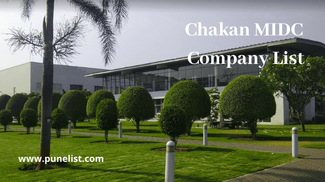 Chakan MIDC Company List