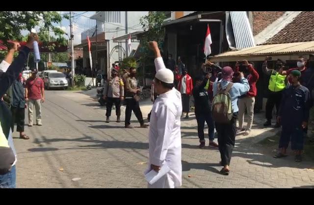 """Orasi Penolakan Asyura di Semarang, Umat Islam: """"Syiah Adalah Musuh Allah"""""""