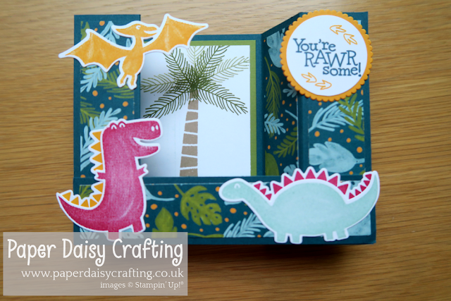 Dino Days Paper Daisy Crafting Stampin Up