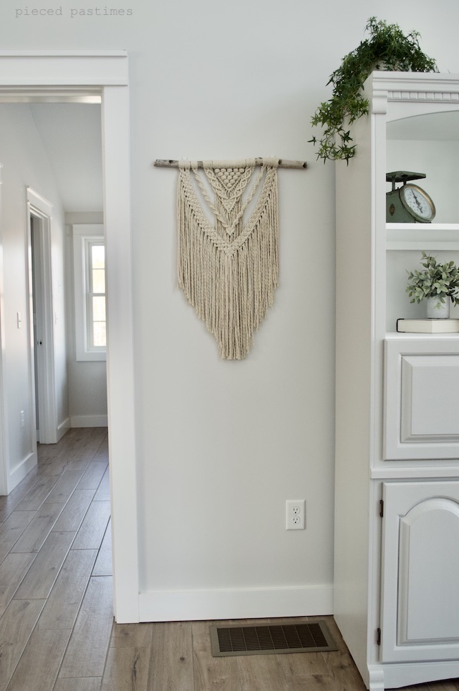 Perseverance Macrame Wall Hanging at Pieced Pastimes