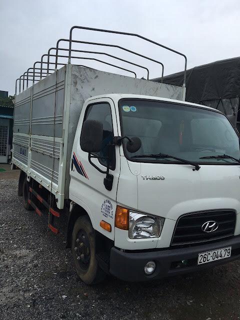 Bán xe tải Hyundai 2,5 tấn cũ ở Bắc Giang