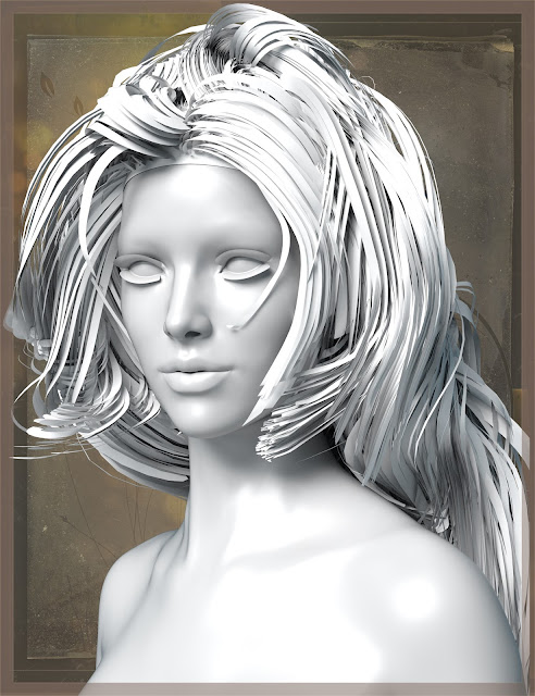 Simple Elegance Hair for Genesis 3 Female