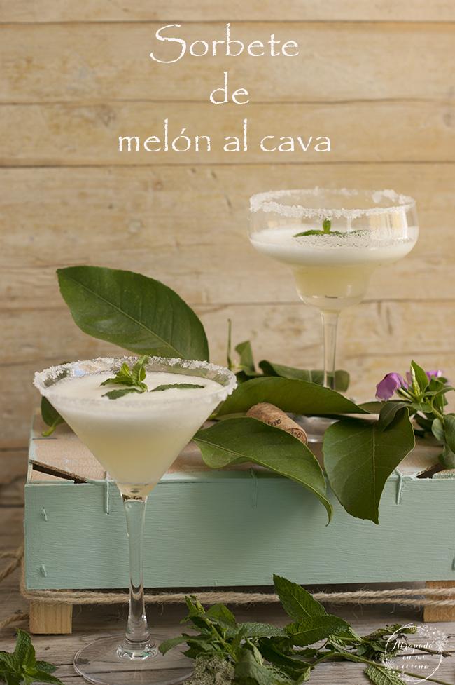 Sorbete de melon al cava recetas de cocina - Sorbete limon al cava ...