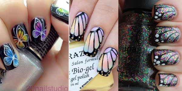 Gorgeous Butterfly Nail Art Designs Omg Love Beauty