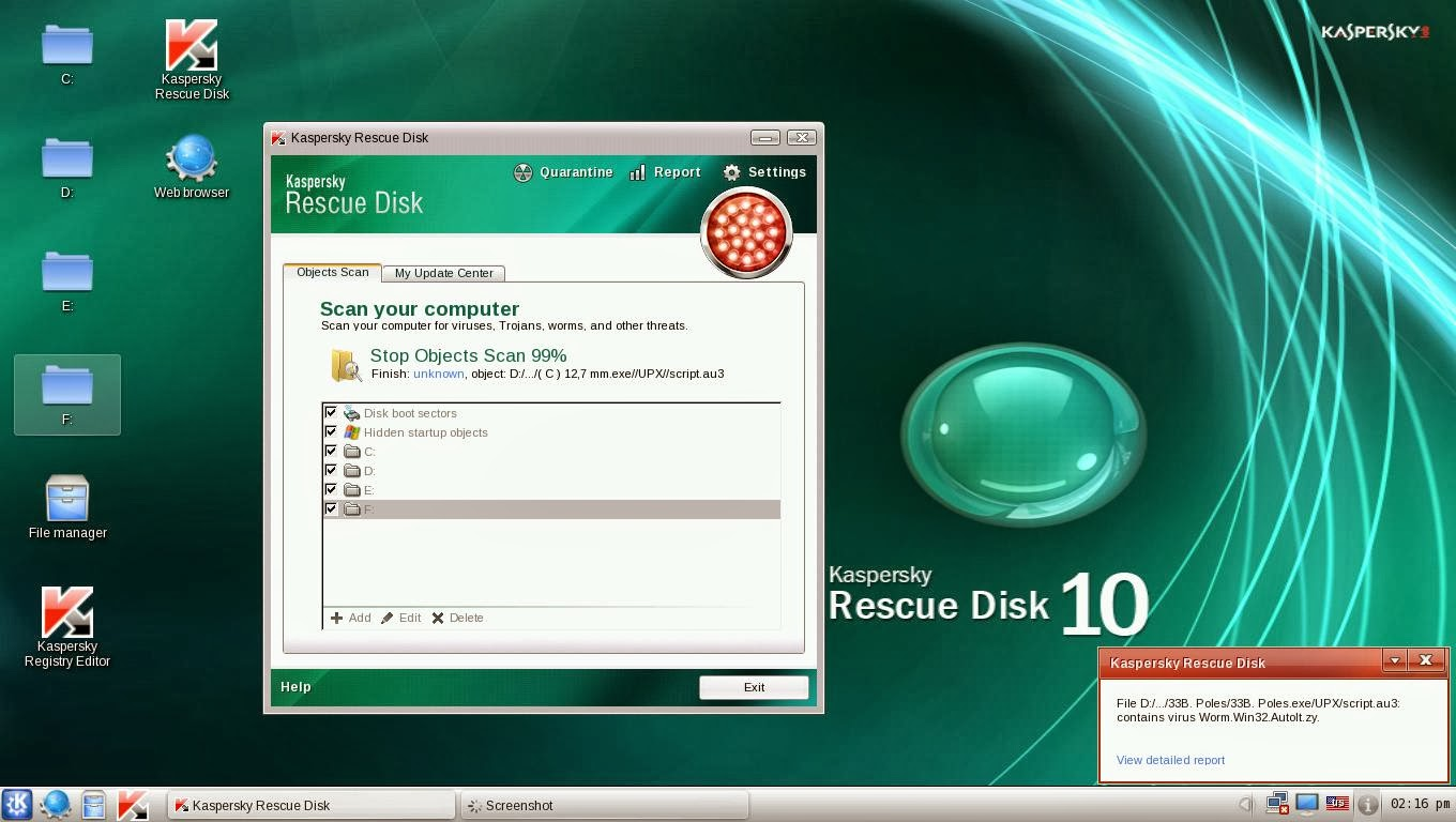How to update Kaspersky 69