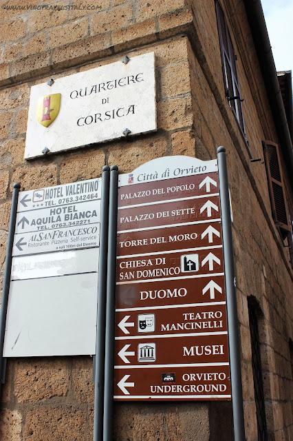 visiting Orvieto in Umbria