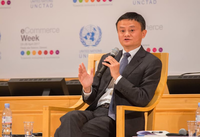 JackMa Stepped Down as CEO