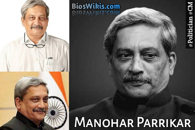 Manohar Parrikar Biography, Wiki, Age, wife