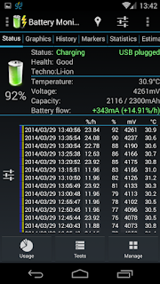 3C Battery Monitor Widget Pro - 4