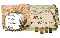 Woohoo! I'm a winner at Quirky crafts challenge