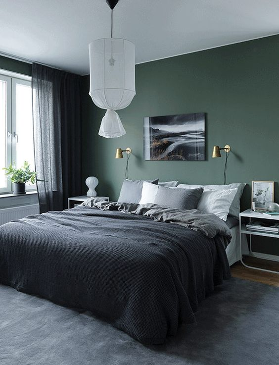 ... However, Darker Paint Can Make Things Feel More High End. If You Are  Worried About Paint The Whole Room Dark, You Can Always Paint Only One  Feature Wall ...