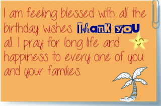 Birthday thank you message for facebook thank you birthday quotes and wishes m4hsunfo