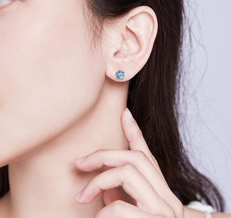 人魚的秘密 925純銀耳環