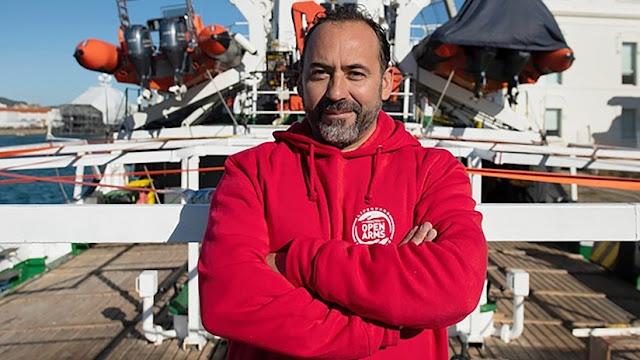 """Capitán argentino del Open Arms: """"Salvini quiere a una Europa enfrentada por la crisis migratoria"""""""