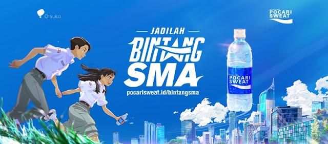 Iklan Pocari Sweat Bintang SMA (TVC), Viral Berkat Anime