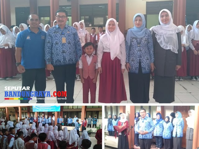 Kadisdik Kota Bandung Tutup Kegiatan MPLS di SMPN 15 Bandung