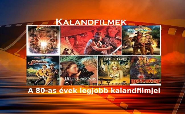 Kalandfilmek – A 80-as évek legjobb kalandfilmjei