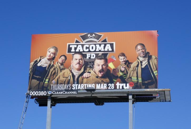 Tacoma FD season 1 billboard