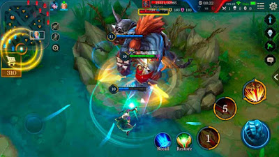 arena of valor habilidades