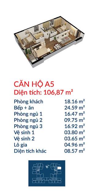 Căn hộ A5 Việt Đức Complex