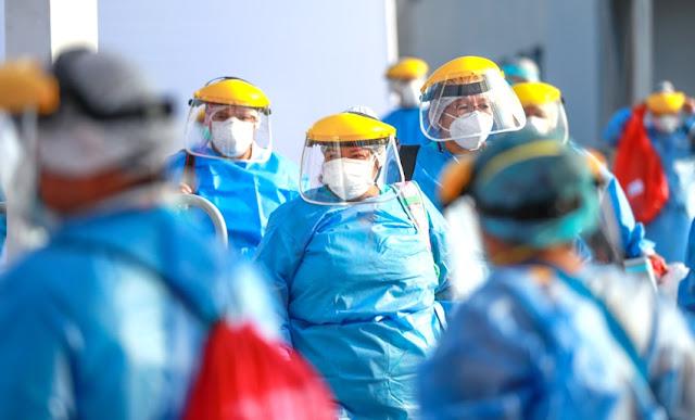 Sueldo de personal de vacunación
