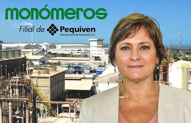 Carmen Elisa Hernández presentó su renuncia a la presidencia de Monómeros en Colombia