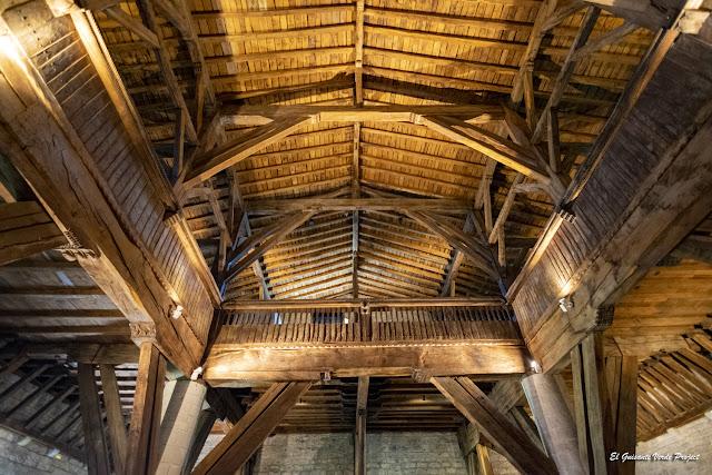 La Antigua, coro y tribunas laterales - Zumarraga