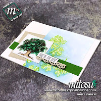 Stampin' Up! Lovely As A Tree Handmade Card Idea. Order papercraft products from Mitosu Crafts UK online shop