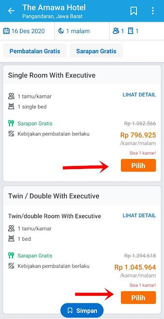 Cara Booking Hotel di Aplikasi Traveloka