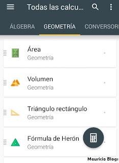 como resolver operaciones de geometria en android