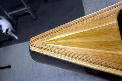 Canoe #02 Laminated Deck