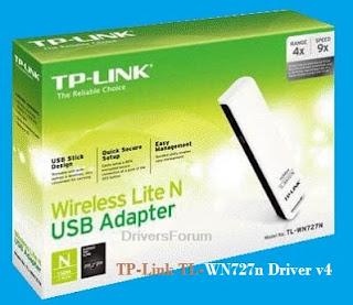 TP-Link TL-WN727n Driver v4