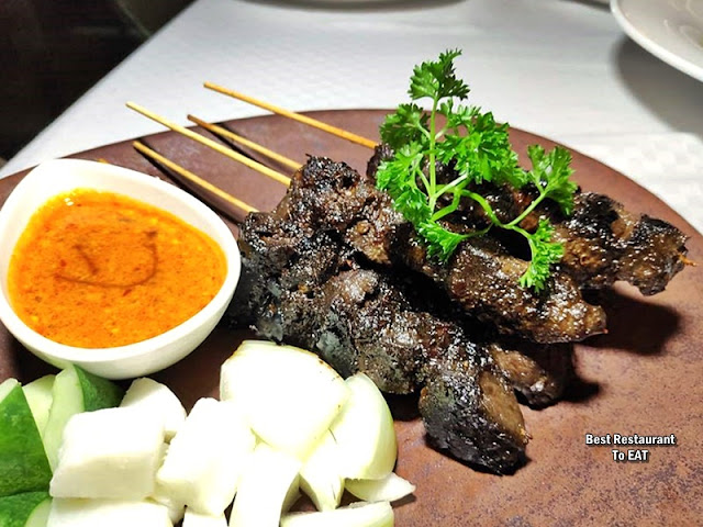 The Club @ G Tower Hotel New Menu - Sate Madura